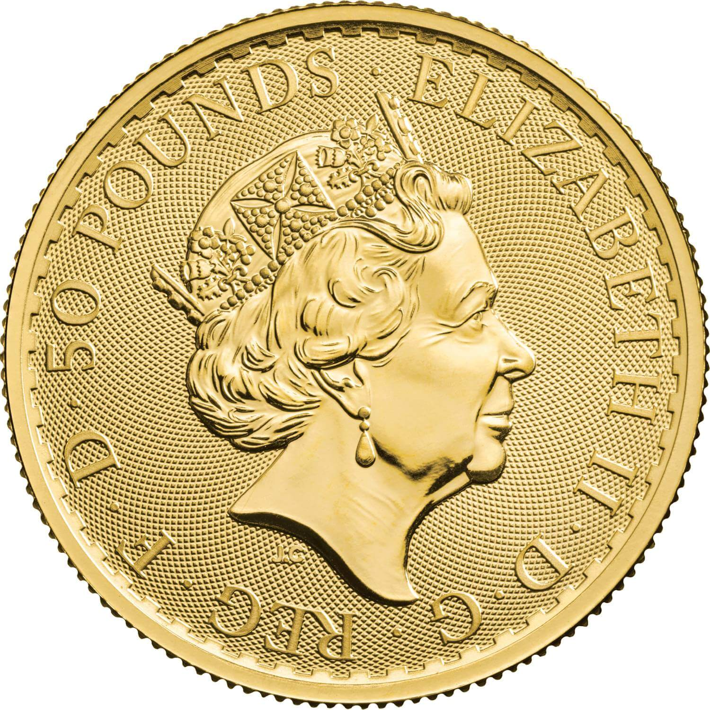 GB 50 Pounds 2021