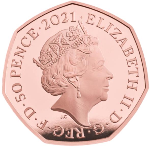 GB 50 Pence 2021