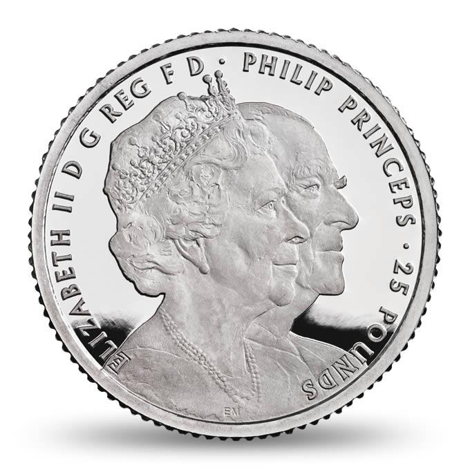 GB 25 Pounds 2017