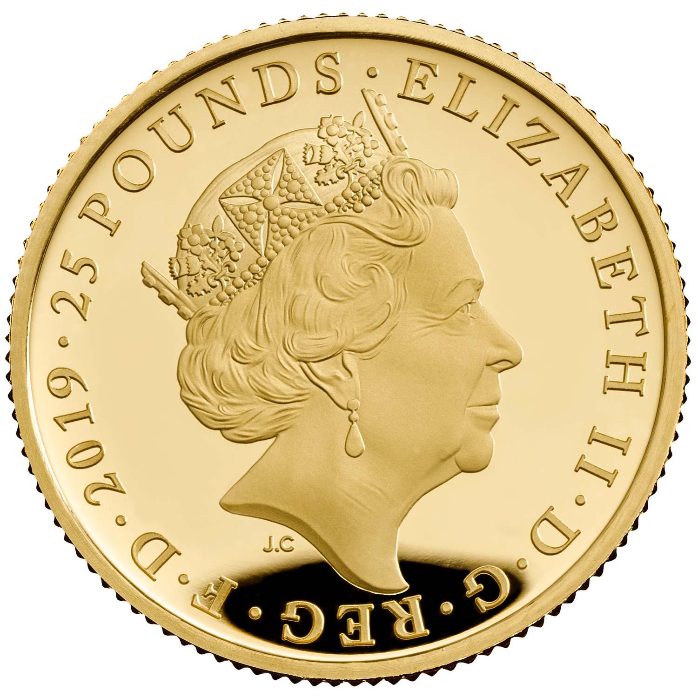 GB 25 Pounds 2019