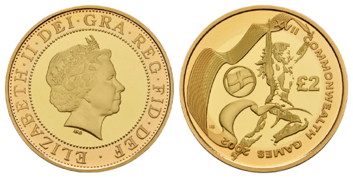 GB 2 Pounds 2002