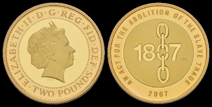 GB 2 Pounds 2007