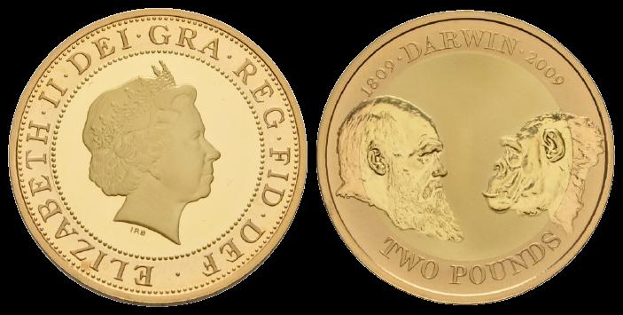 GB 2 Pounds 2009