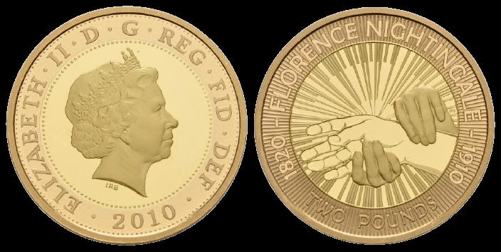 GB 2 Pounds 2010