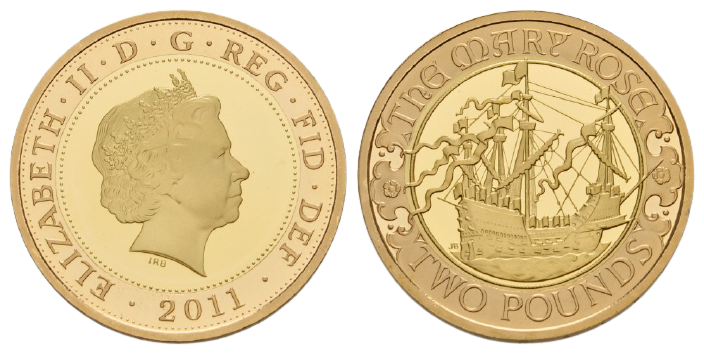 GB 2 Pounds 2011