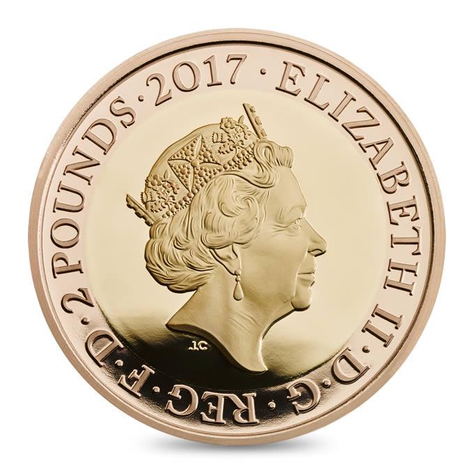 GB 2 Pounds 2017
