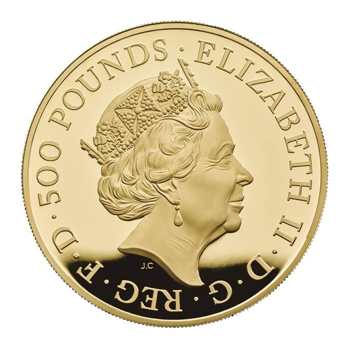 GB 500 Pounds 2018