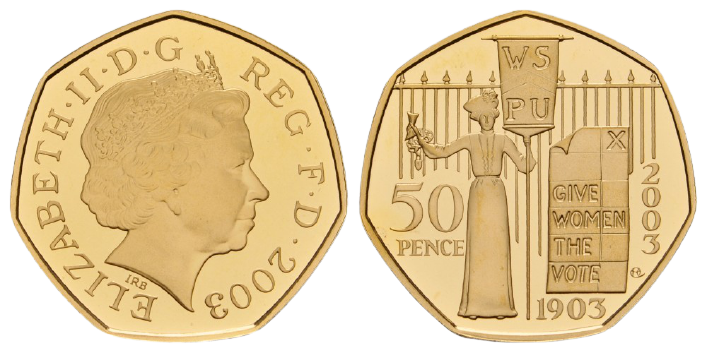 GB 50 Pence 2003