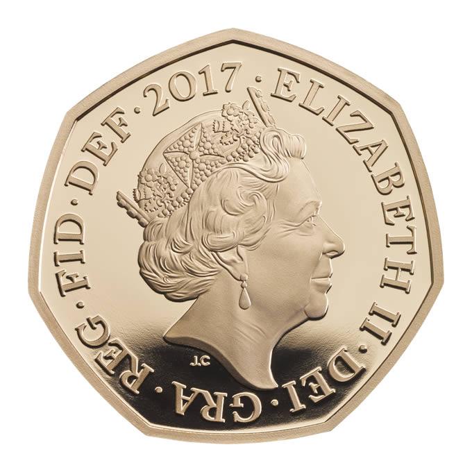 GB 50 Pence 2017