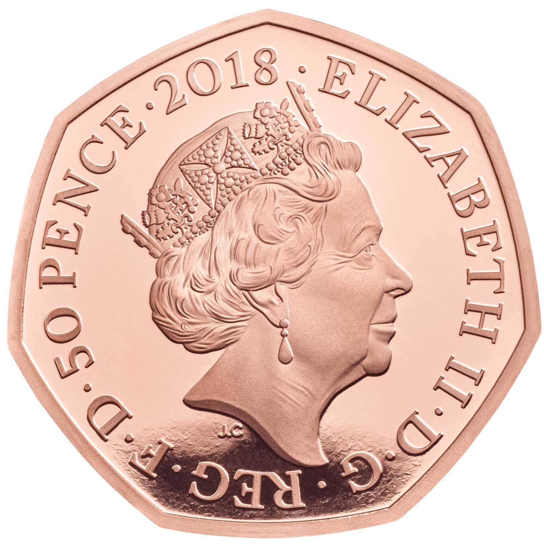 GB 50 Pence 2018