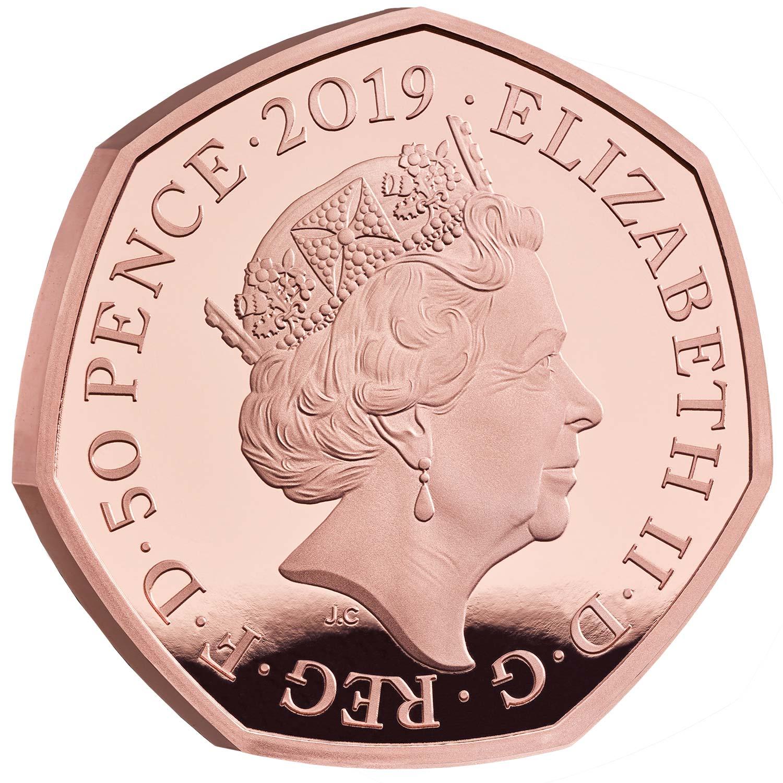 GB 50 Pence 2019