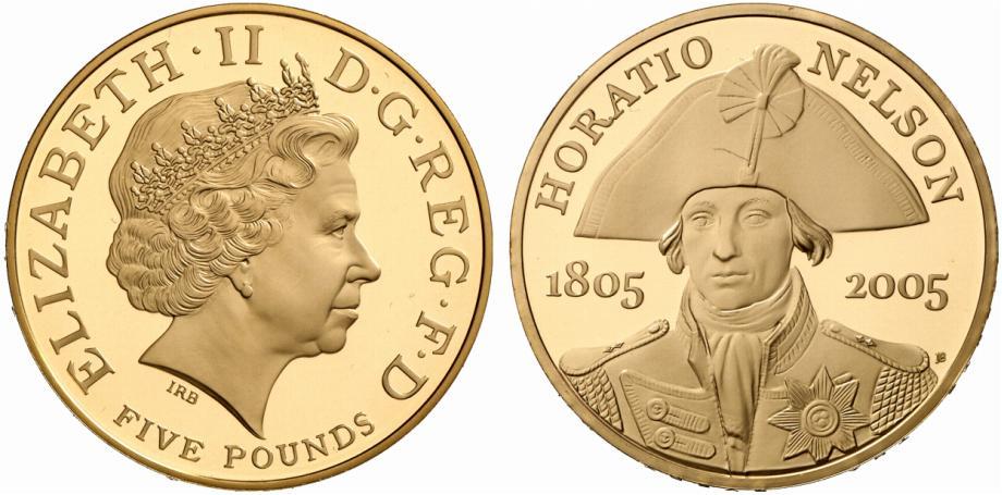 GB 5 Pounds 2005