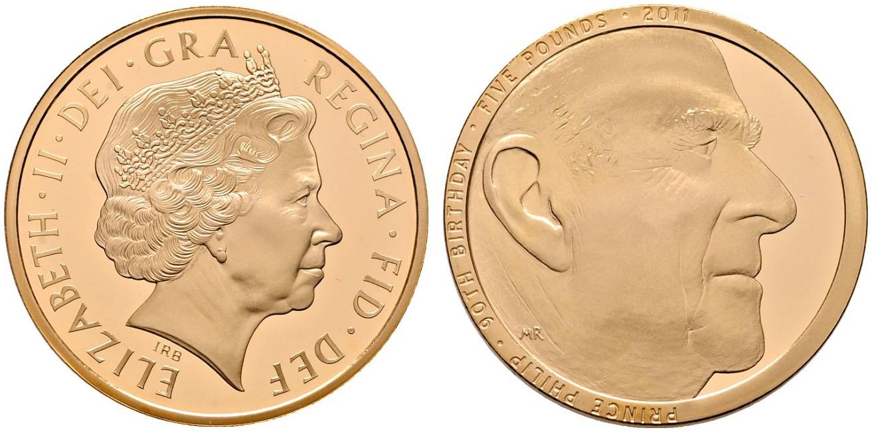 GB 5 Pounds 2011