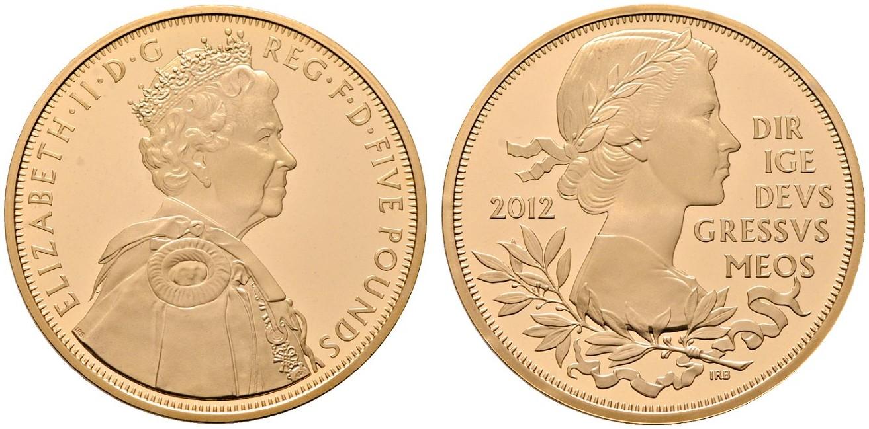 GB 5 Pounds 2012