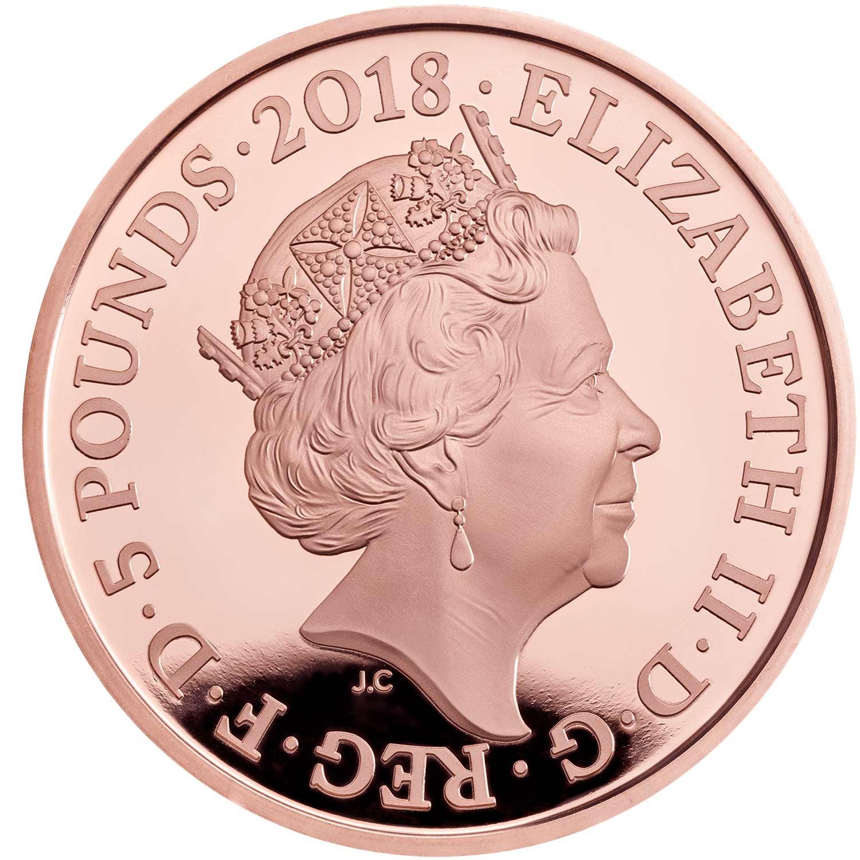 GB 5 Pounds 2018