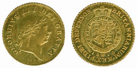 GB 1/2 Guinea - Half Guinea 1810