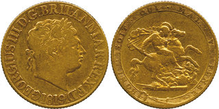 GB Sovereign 1819