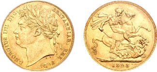 GB Sovereign 1823