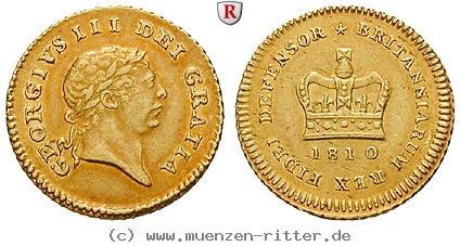 GB 1/3 Guinea - Third Guinea 1810