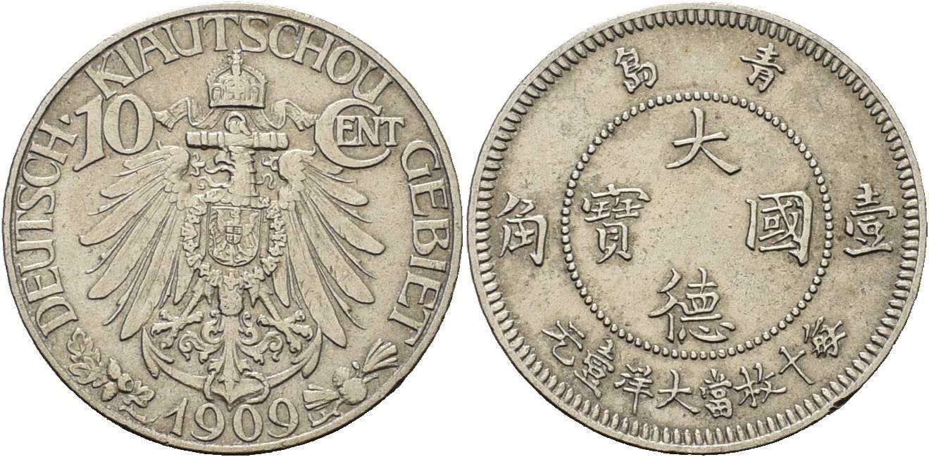 DE 10 Cent 1909 A