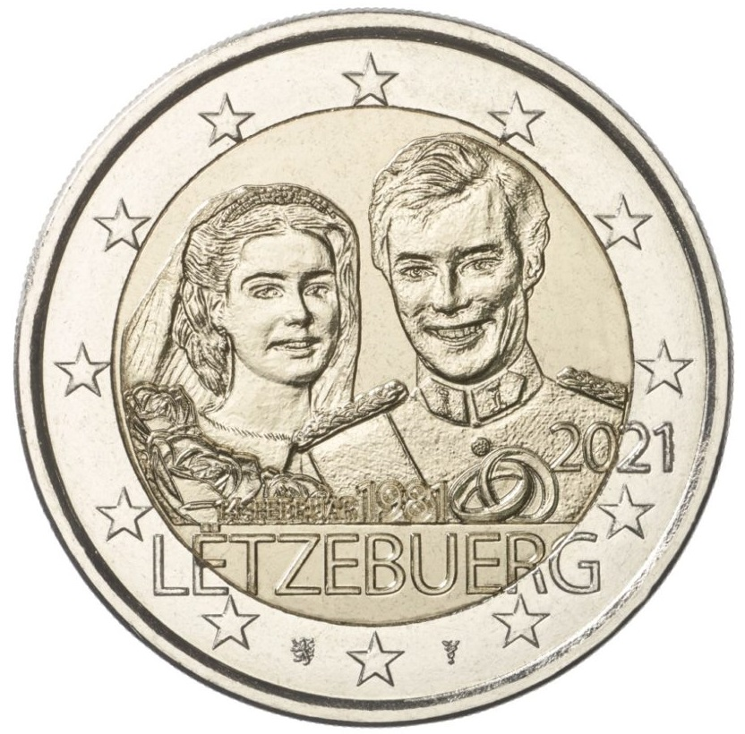 LU 2 Euro 2021 Lion;