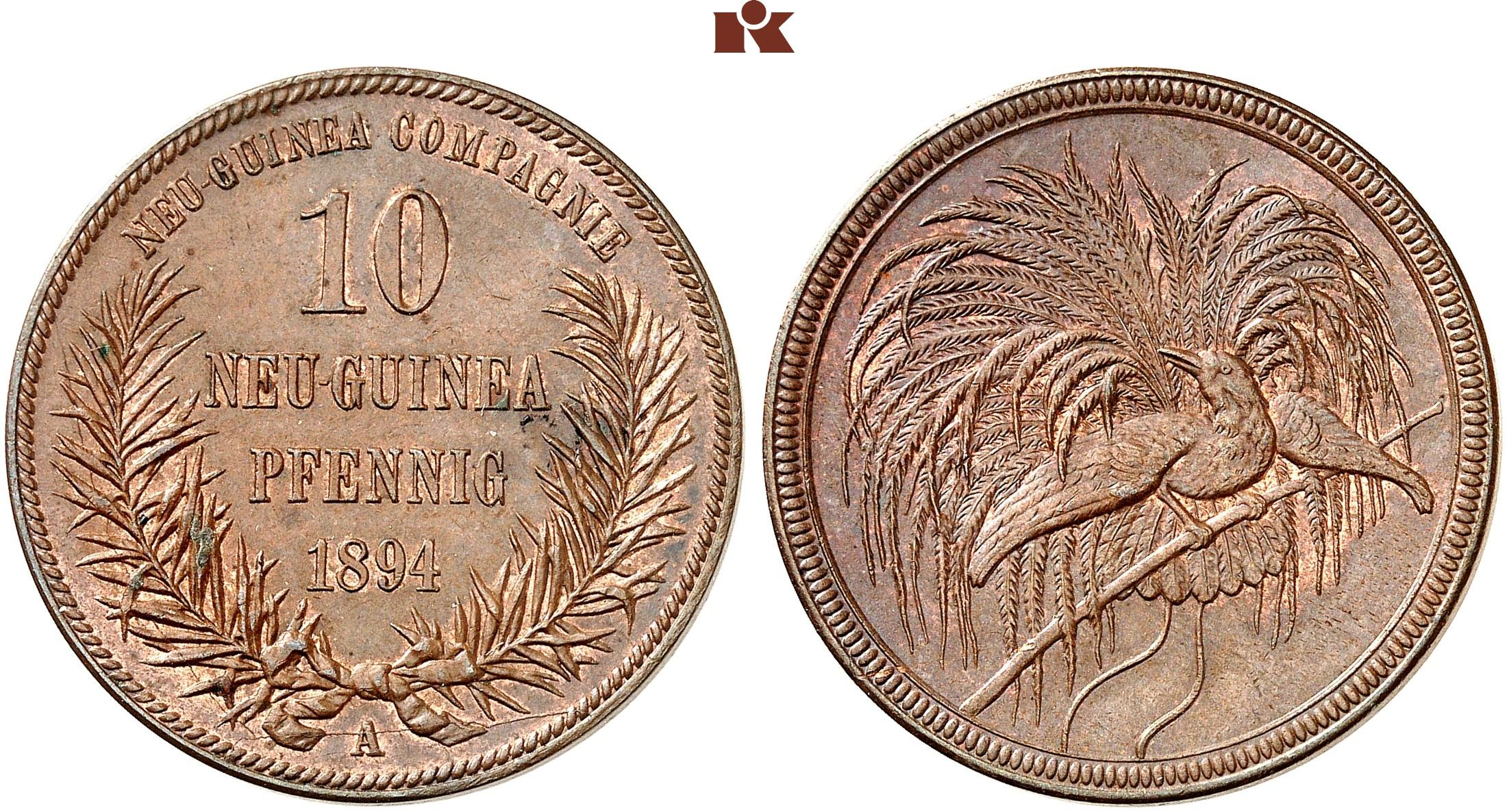 DE 10 Pfennig 1894 A