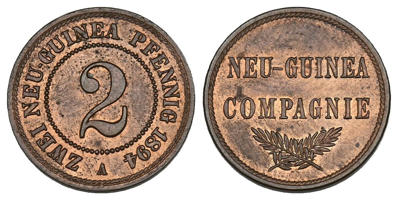 DE 2 Pfennig 1894 A