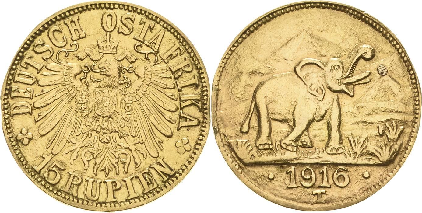 DE 15 Rupien 1916 T