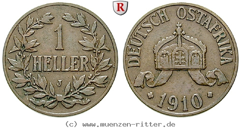 DE 1 Heller 1910 J