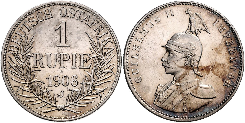 DE 1 Rupie 1906 J