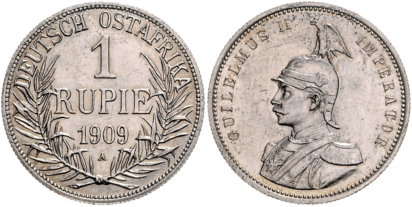 DE 1 Rupie 1909 A