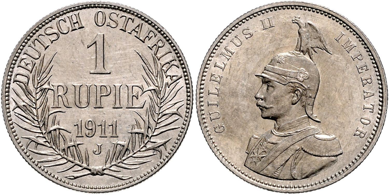 DE 1 Rupie 1911 J