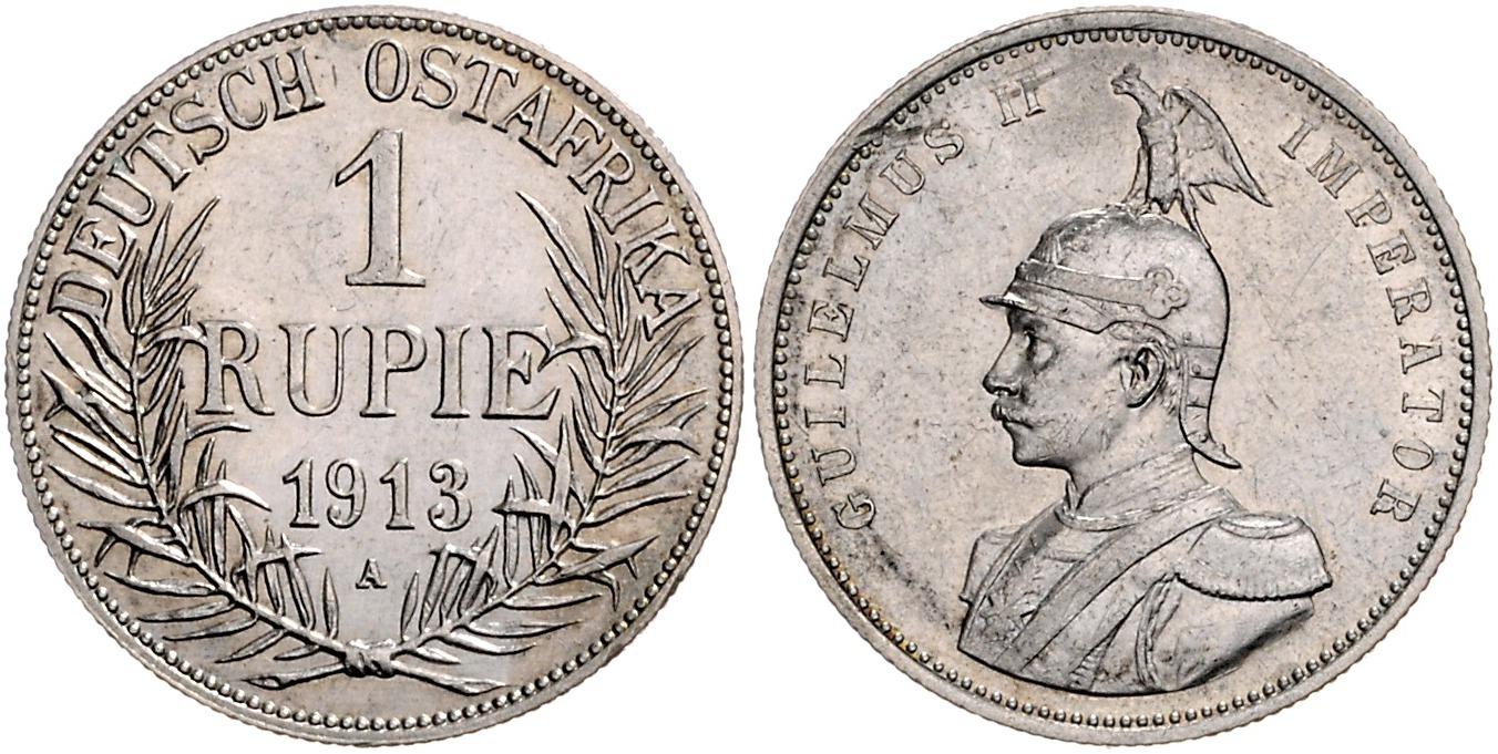 DE 1 Rupie 1913 A