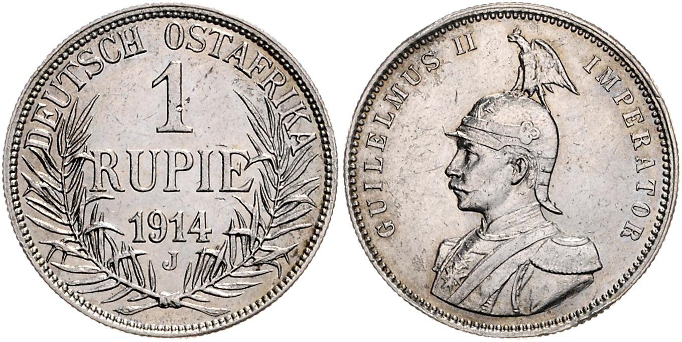 DE 1 Rupie 1914 J