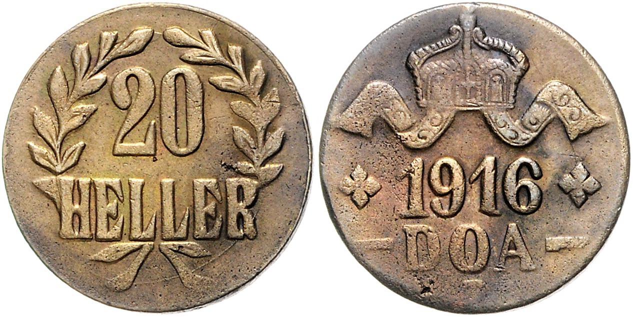 DE 20 Heller 1916 T