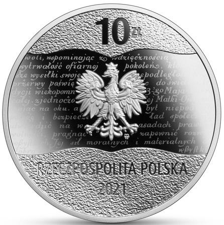 PL 10 Zloty 2021 Monogram MW