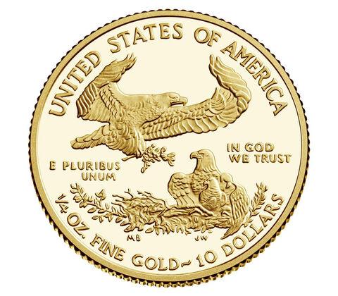 US 10 Dollars 2021 W
