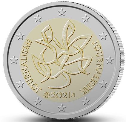 FI 2 Euro 2021 Lion; FI