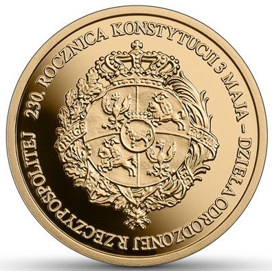 PL 100 Zloty 2021 MW Monogram