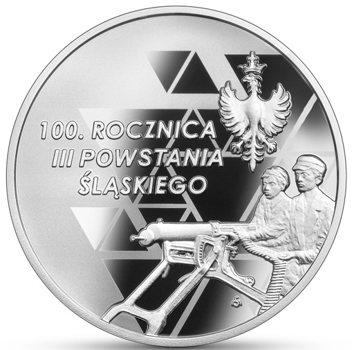 PL 10 Zloty 2021 MS Monogram