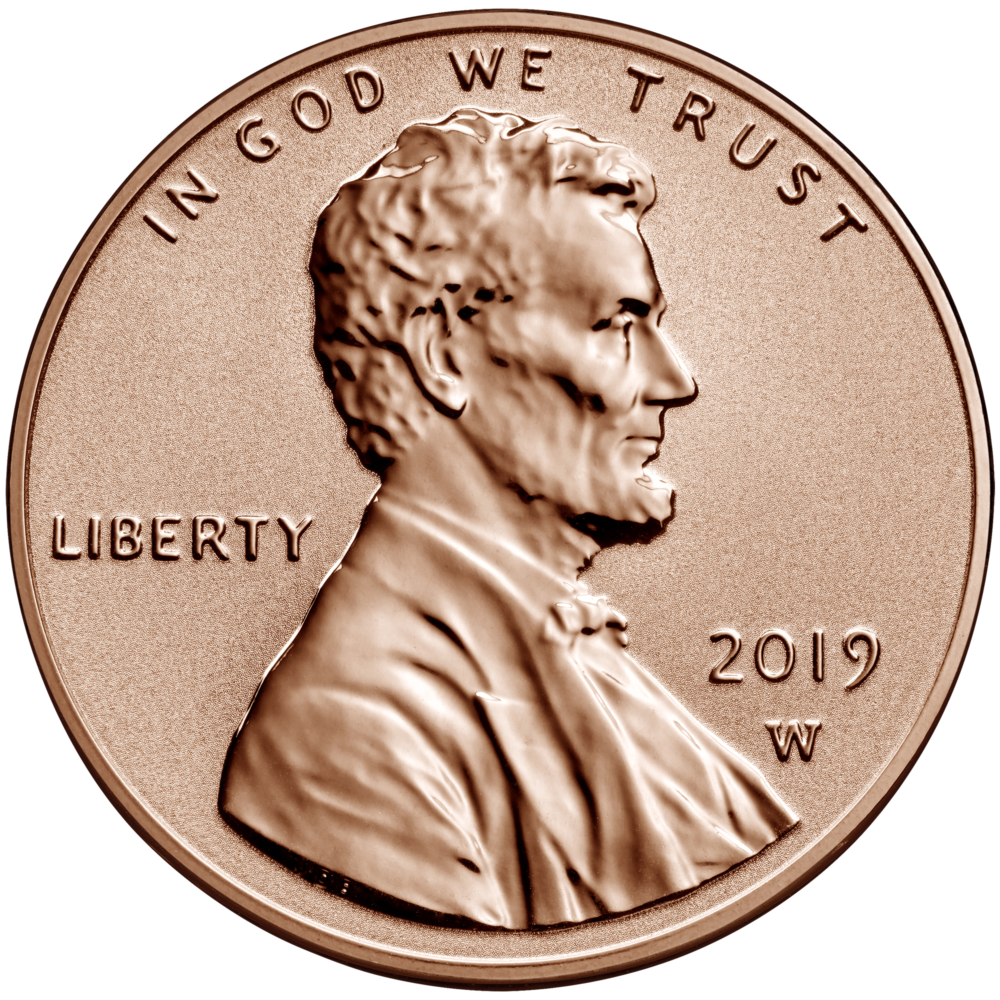 US 1 Cent - Penny 2019 W