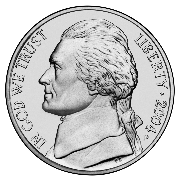 US 5 Cent - Nickel 1972 no mintmark