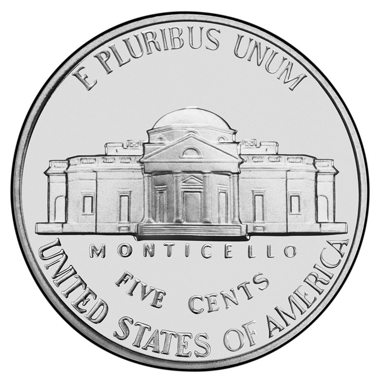 US 5 Cent - Nickel 1970 S