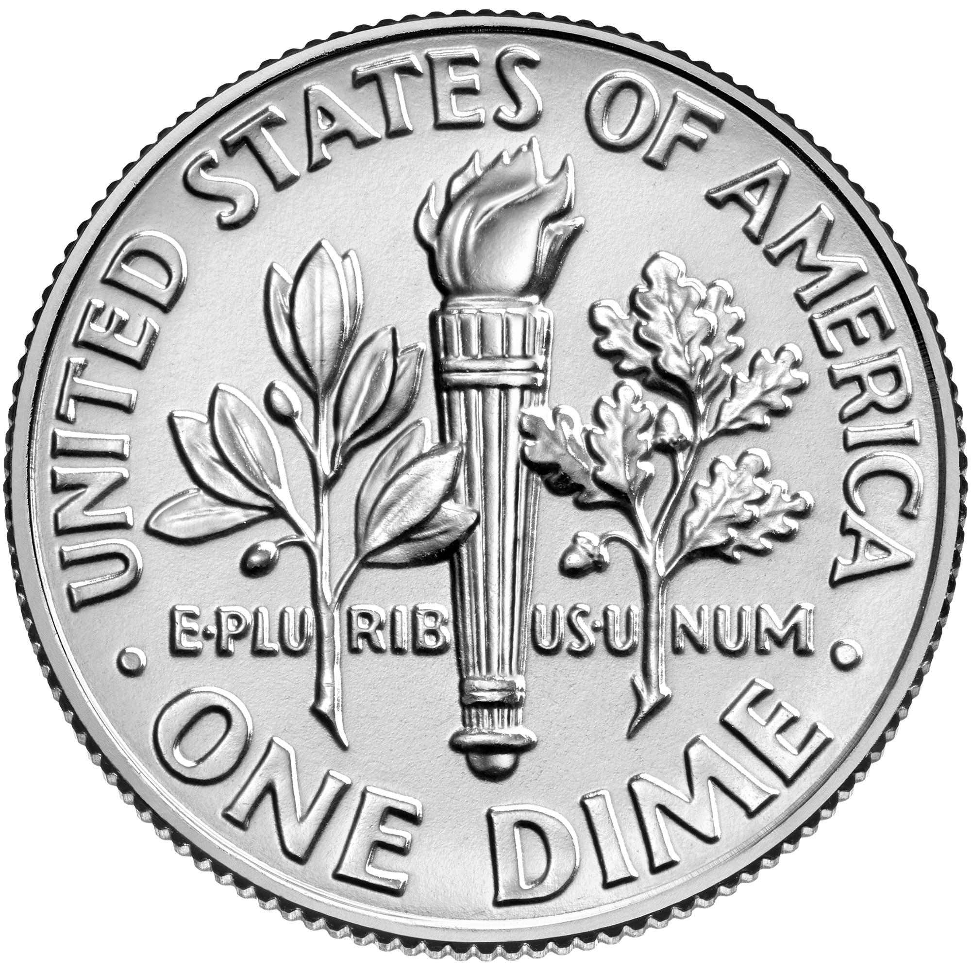 US 10 Cent - Dime 1972 no mintmark