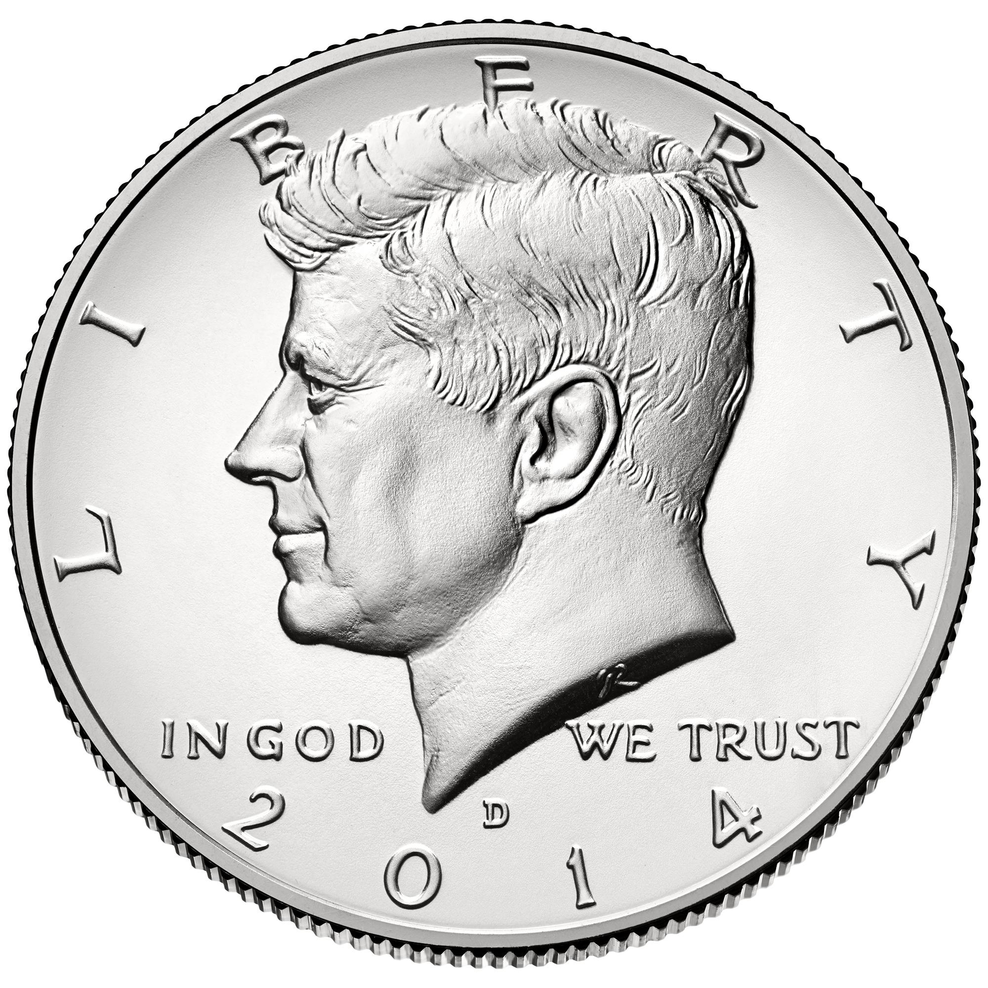US 1/2 Dollar - Half Dollar 2014 D