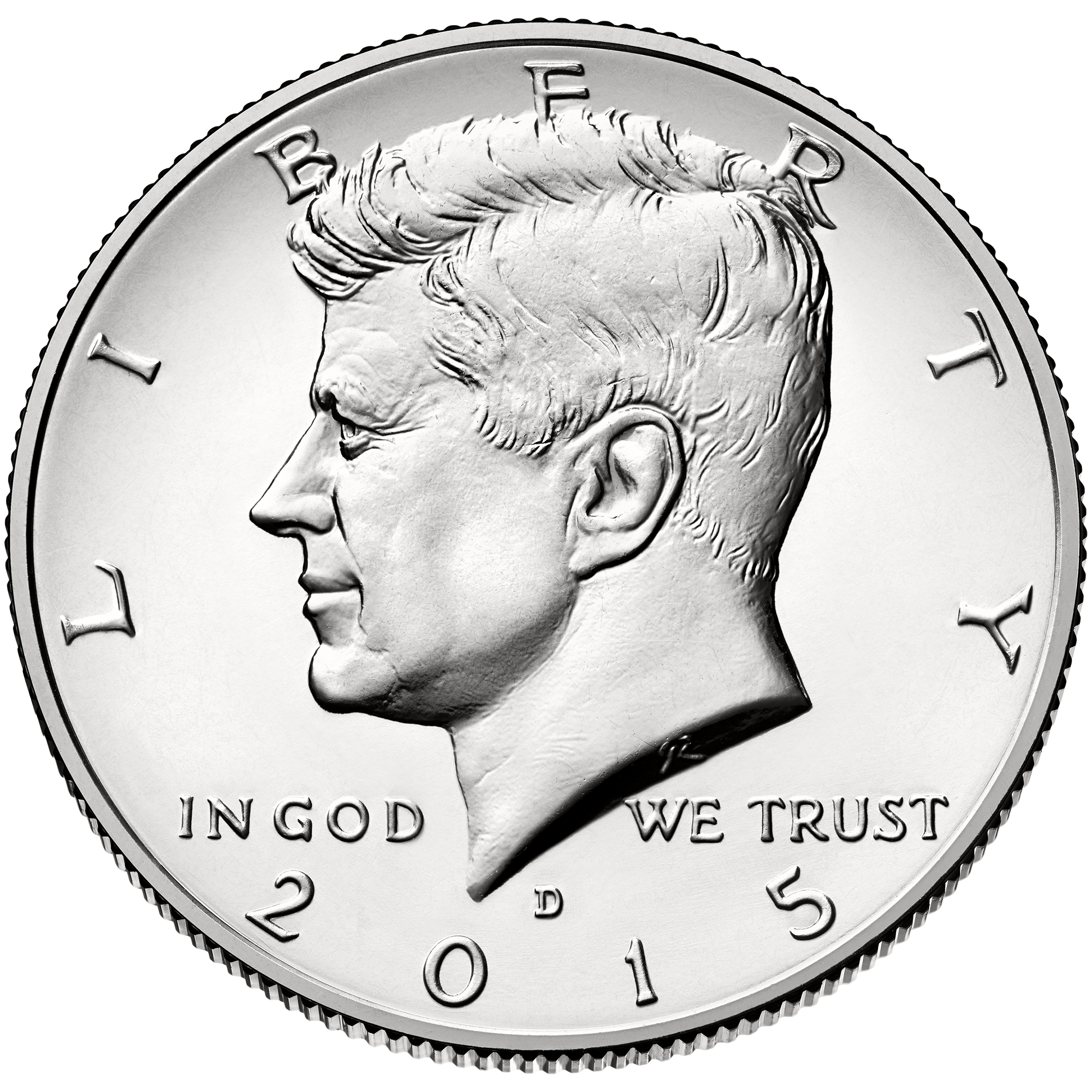 US 1/2 Dollar - Half Dollar 2015 D
