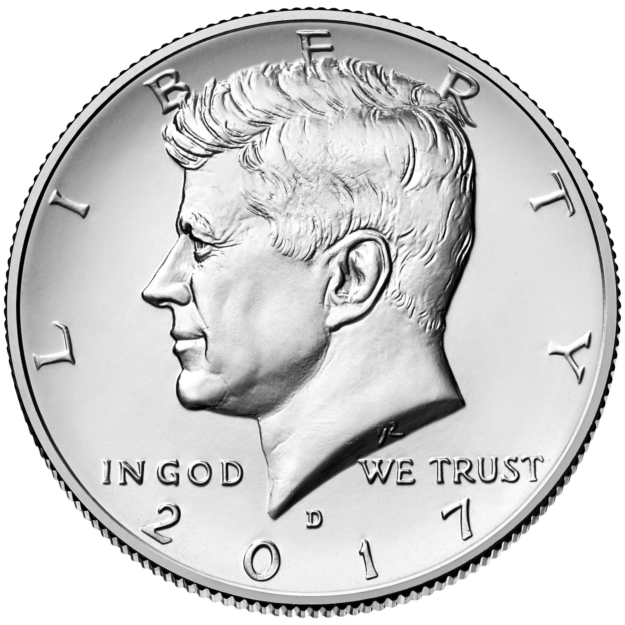 US 1/2 Dollar - Half Dollar 2017 P