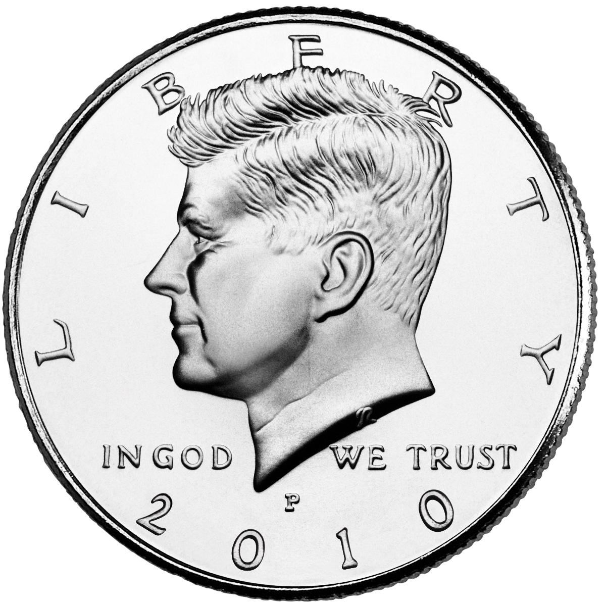US 1/2 Dollar - Half Dollar 2010 P