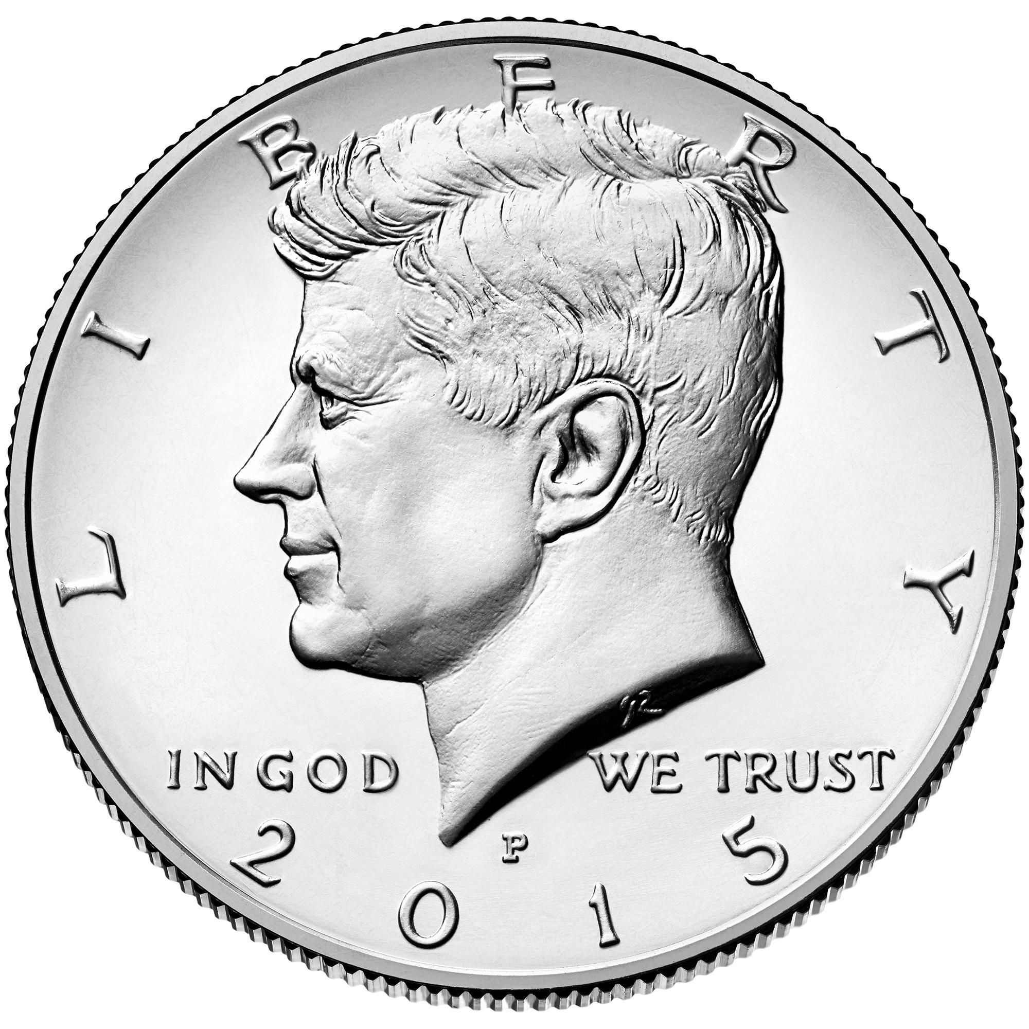 US 1/2 Dollar - Half Dollar 2015 P
