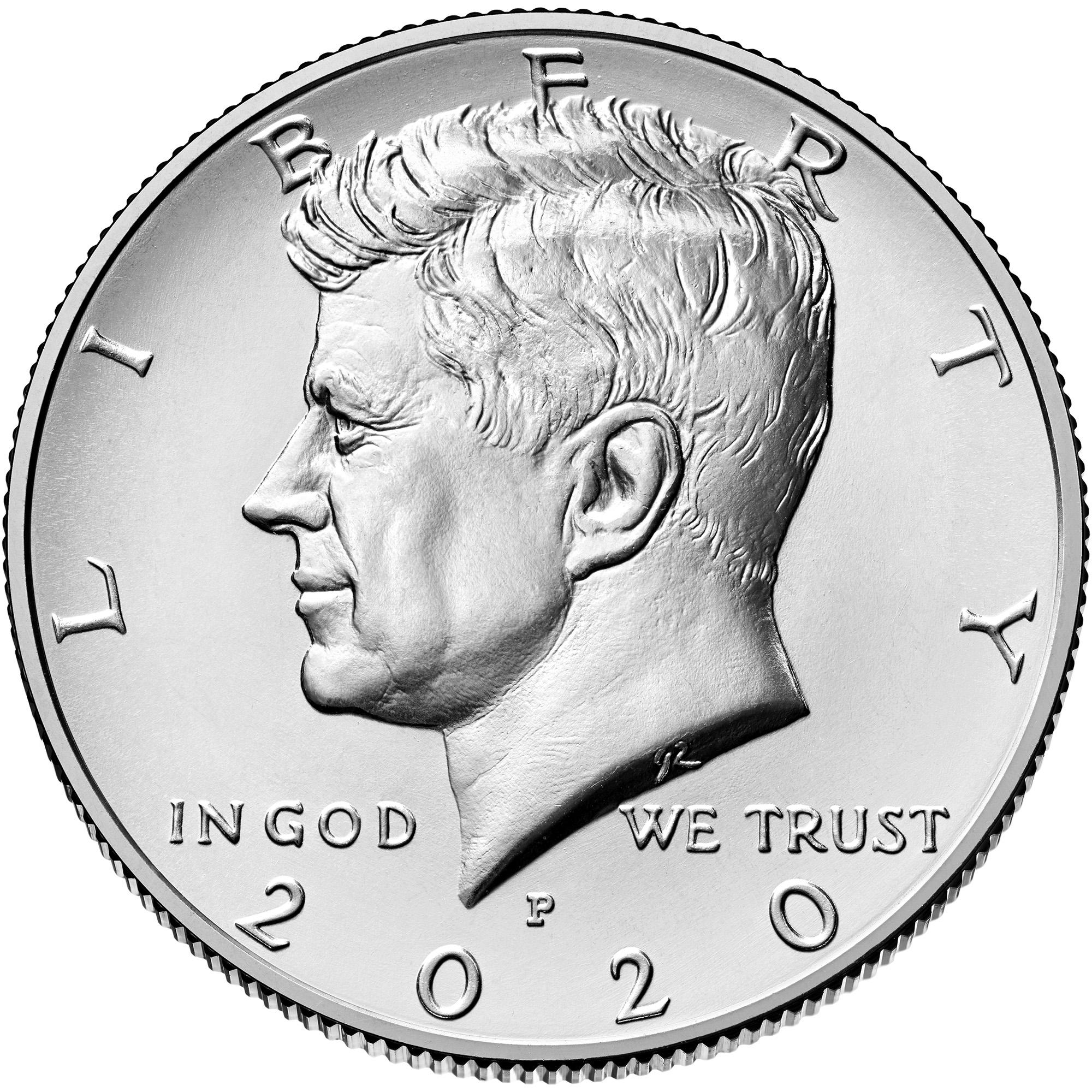 US 1/2 Dollar - Half Dollar 2020 P
